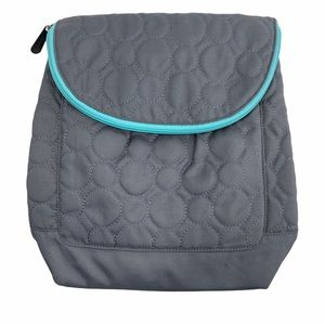 Thirty One Crossbody Backpack Purse Bag Grey Dots